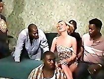 Gorgeous Blonde Gangbanged 1 Free Gang Bang Porn Video F1
